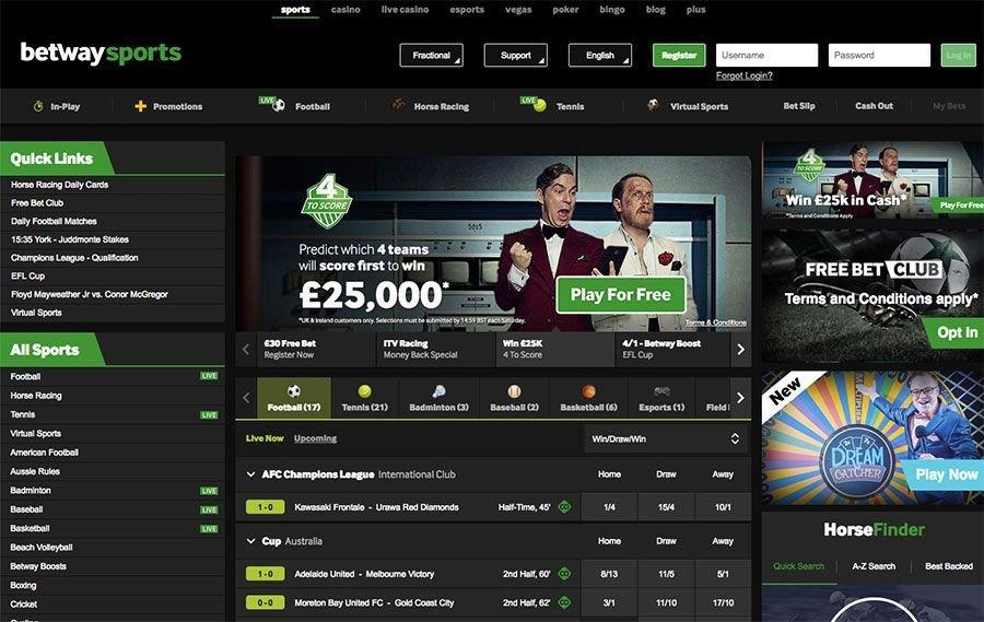 Betway Review | September 2019 - LatestBettingSites