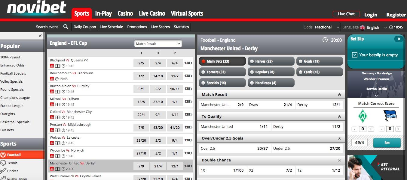 Betting tips on todays games